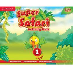 Super Safari 1 Activity Book - Herbert Puchta, Günter Gerngr - książka