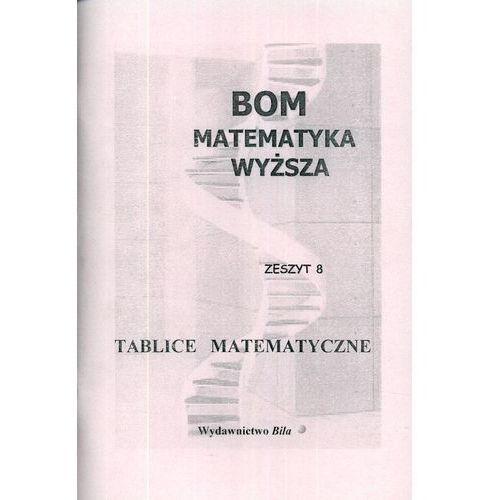 Matematyka, Tablice Matematyczne Matematyka Wyższa (opr. miękka)