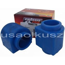 Tuleje gumy przedniego drążka stabilizatora 34mm Chevrolet TrailBlazer 2004-2009