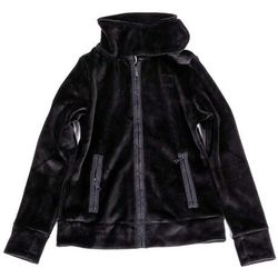bluza BENCH - Core Velvet Fleece Funnel Black Beauty (BK11179) rozmiar: M