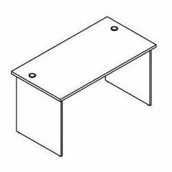 Biurko proste BH73 wymiary: 137x70x75,8 cm