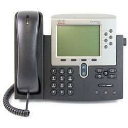 CP-7961G Telefon IP Cisco 7961G z dużym monochromatycznym wyświetlaczem LCD