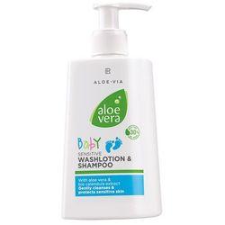 Lr health & beauty Aloe vera baby emulsja myjaca i szampon dla dzieci 250ml