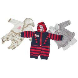 Ubranko dla lalki, różne rodzaje