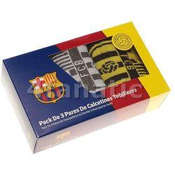 skarpetki męskie FC Barcelona 3pak HE 40-45