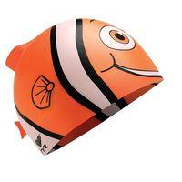 Czepki, TYR Charactyrs Happy Fish Czepek pływacki Dzieci pomarańczowy/biały 2018 Czepki pływackie Przy złożeniu zamówienia do godziny 16 ( od Pon. do Pt., wszystkie metody płatności z wyjątkiem przelewu bankowego), wysyłka odbędzie się tego samego dnia.