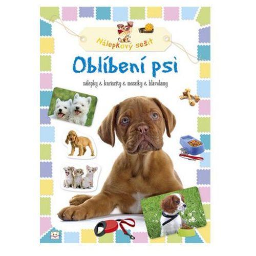 Pozostałe książki, Oblíbení psi Nálepkový sešit