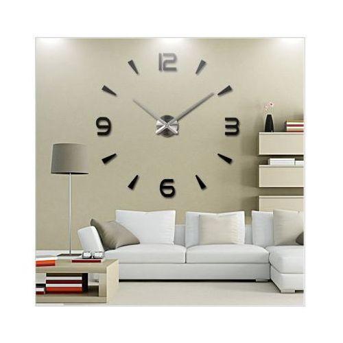 Zegary, Ogromny Zegar Ścienny 3D (regulowana średnica od 70-150cm!!).