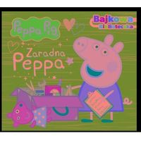 Książki dla dzieci, Zaradna peppa. bajkowa biblioteczka. świnka peppa (opr. twarda)