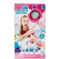 Kreatywne dla dzieci, TM Toys Pom Pom Wow- Zestaw startowy 45 pomponów - BEZPŁATNY ODBIÓR: WROCŁAW!