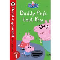 Książki do nauki języka, Peppa Pig: Daddy Pigs Lost Key. Read it yourself with Ladybird Level 1 - książka