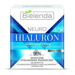 Nawilżający krem przeciwzmarszczkowy 40+ Neuro Hialuron 50ml Bielenda