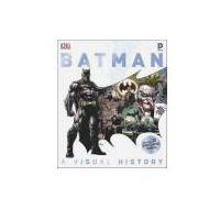 Książki do nauki języka, Batman A Visual History (opr. twarda)
