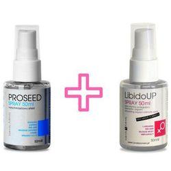 Zestaw dla Dwojga Spray PROSEED 50ml + Spray LibidoUp 50ml | 100% DYSKRECJI | BEZPIECZNE ZAKUPY RABAT -20%