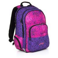 Tornistry i plecaki szkolne, Plecak młodzieżowy Topgal HIT 861 I - Violet