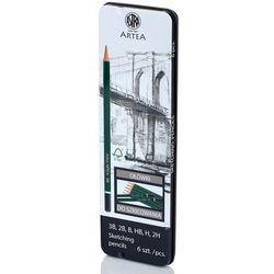 Ołówek do szkicowania (6szt.) Astra