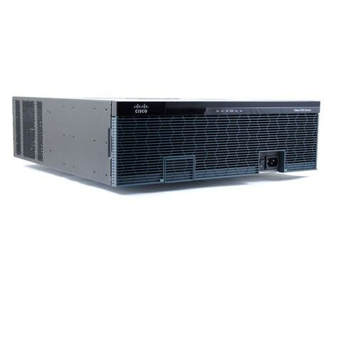 Routery i modemy ADSL, C3945E-VSEC/K9 Router Cisco 4xGE (2x1G RJ45) (2x1G RJ45/SFP combo), 3x EHWIC, 4x SM, 3x DSP, PVDM3-64, 256MB FLASH, 1GB DRAM, UC/SEC, 1.4Gbps