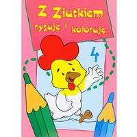 Pedagogika, Z ZIUTKIEM RYSUJĘ I KOLORUJĘ 4 (opr. miękka)