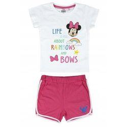Disney piżama dziewczęca Minnie 116 biały/różowy