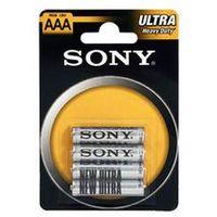 Baterie, SONY R03-NUB4A + Odbiór w 800 punktach!