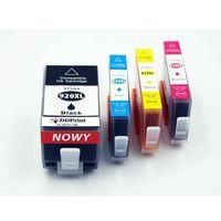 Tusze do drukarek, Zestaw Tuszy HP 920XL CMYK do HP Officejet 6000 6500 7000 7500 / 60ml czarny / 18ml kolory / Zamienniki / DD-Print