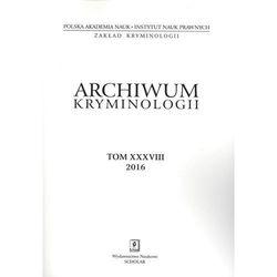 Archiwum kryminologii T XXVII - Praca zbiorowa (opr. kartonowa)