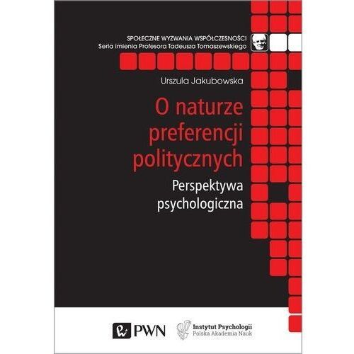 Pozostałe książki, O naturze preferencji politycznych (opr. miękka)