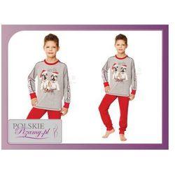 Piżama dziecięca MIKI: czerwień