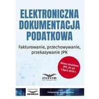 E-booki, Elektroniczna dokumentacja podatkowa