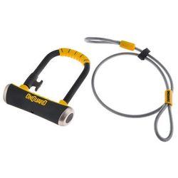 Zamknięcie ONGUARD PitBull MINI 8008 U-LOCK + linka 120cm - 14mm 90mm 140mm - 5x Klucze z kodem