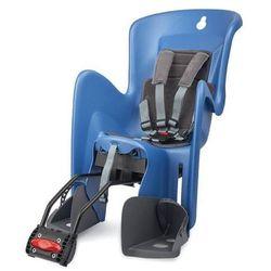 POLISPORT fotelik rowerowy Bilby, niebieski/szary