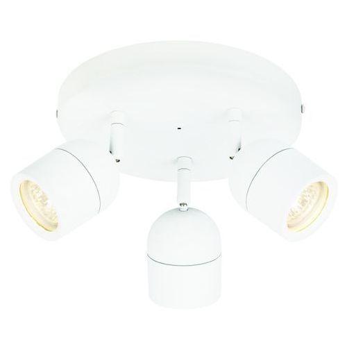 Pozostałe oświetlenie wewnętrzne, Spot plafon łazienkowy Colours Genlis 3 x 20 W GU10 IP44 biały