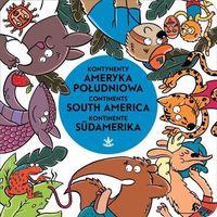 Książki dla dzieci, Kontynenty Ameryka Południowa (opr. kartonowa)