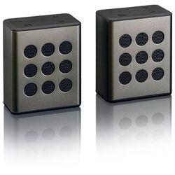 Lenco Głośnik stereo bluetooth, 2 szt., BTP-200, czarny Darmowa wysyłka i zwroty