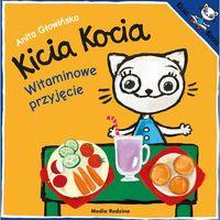 Książki dla dzieci, Kicia Kocia Witaminowe przyjęcie (opr. miękka)