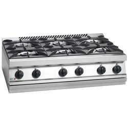 Kuchnia gazowa 6 palnikowa | 39500W