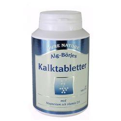 Kalktabletter Wapń, Alg-Börje, 100 tabletek