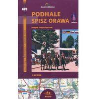 Mapy i atlasy turystyczne, Podhale Spisz Orawa Mapa turystyczna 1:50 000 (opr. broszurowa)
