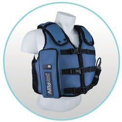 Kamizelka drenażowa Vibra Vest mobilna do rehabilitacji oddechowej - nowy model Afflo Vest HFCWO