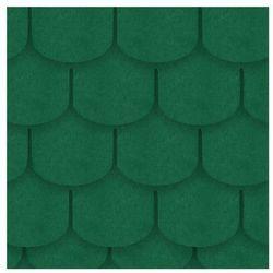Gont bitumiczny KARPIÓWKA Zielony 3 m2 IZOLMAT