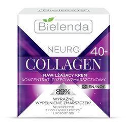 Bielenda Neuro Collagen krem nawilżający z efektem przeciwzmarszczkowym 40+ (Neuropeptide, 2x Collagen 3 Peptyd, Liposomy Q10) 50 ml