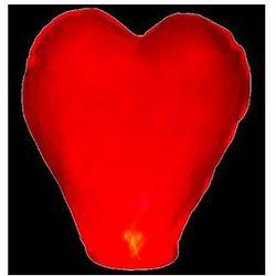 Latające lampiony Serce 37 x 93 x 95 cm, 1 szt. czerwony