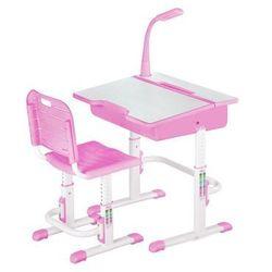 Biurko + Krzeso dla dzieci regulowane Astro - 3 kolory / Gwarancja 24m / NAJTAŃSZA WYSYŁKA!