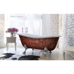 Glam Copperra - artystyczna ekskluzywna wanna ze strukturą rabat 20%