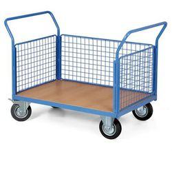 Wózek platformowy ze ścianami, 1000 x 700 mm