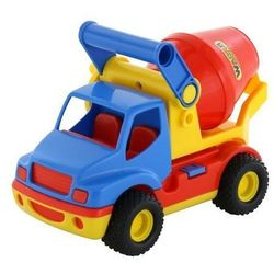 ConsTruck samochód-betoniarka w siatce