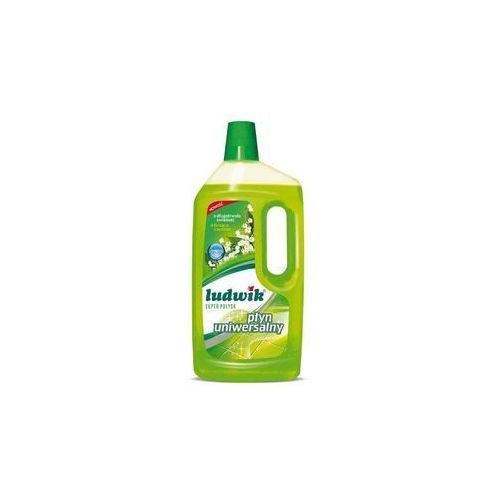 Płyny do czyszczenia podłóg, Uniwersalny płyn do mycia super połysk 1L LUDWIK