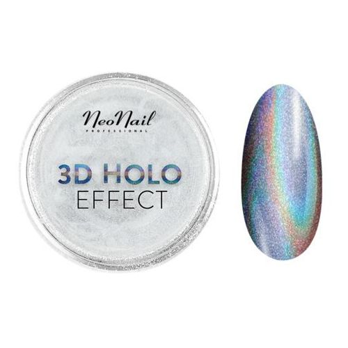 Ozdoby na paznokcie, Puder 3d Holo Effect Neonail – 0,3 g