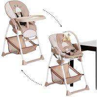 Krzesełka do karmienia, HAUCK Krzesełko do karmienia Sit'n Relax Żyrafa