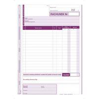Druki akcydensowe, Rachunek dla zwolnionych Z VAT A5 pion (O+1K) MICHALCZYK I PROKOP - G0328